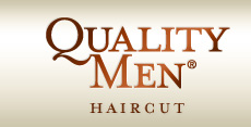 Quality Men Haircut logo